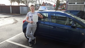 Ryan passed first time with MAG driving school