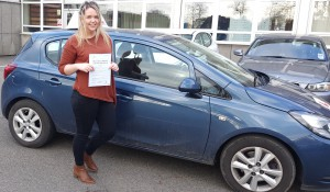 Bethany Carey Passed driving test