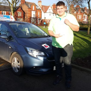 Well done Harlen for passing with MAG, good luck in Norfolk