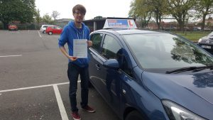 Ben Newell was happy with his first time pass